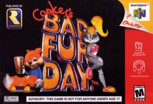 Conker's Bad Fur Day Boxshot