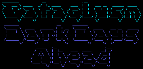 Oh god. ASCII art. And you thought the apocalypse was bad.