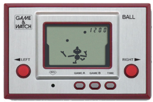 Ball – first game made for the Game & Watch series