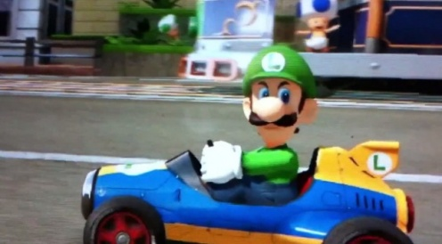 Get this game...or else Luigi will hit you with a blue shell. You wouldn't want that, would you?