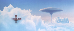 "Don't just stick players in dark, dank levels! Let them enjoy some of the most splendorous sights of the universe, like Cloud City from ""The Empire Strikes Back."""