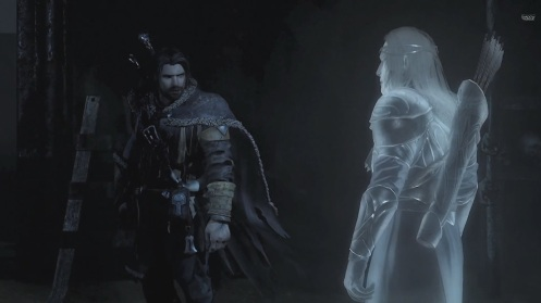 From left to right: Talion, Wraith