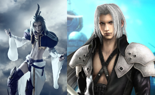 To be fair, Sephiroth wasn't into crossdressing.
